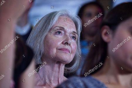 Stock Photo of 01 09 15 Jeremy Corbyn Vision of the Future of Art at the Arcola Theatre Dalston London Anna Ford