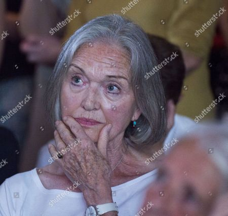 Stock Picture of 01 09 15 Jeremy Corbyn Vision of the Future of Art at the Arcola Theatre Dalston London Anna Ford
