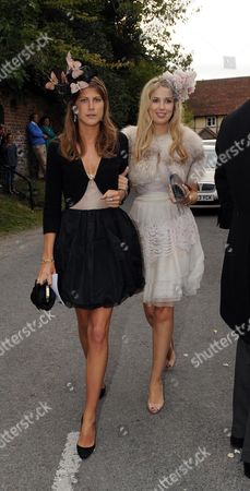 Wedding at St Augustine's Church East Hendred Berkshire Princess Florence Von Preussen & Alexandra Finlay