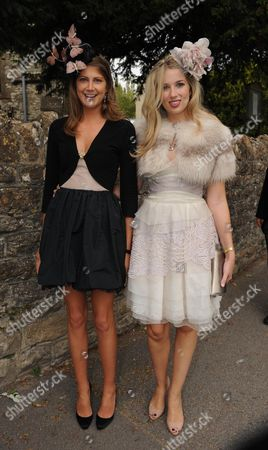 Wedding at St Augustine's Church East Hendred Berkshire Princess Florence Von Preussen and Alexandra Finlay