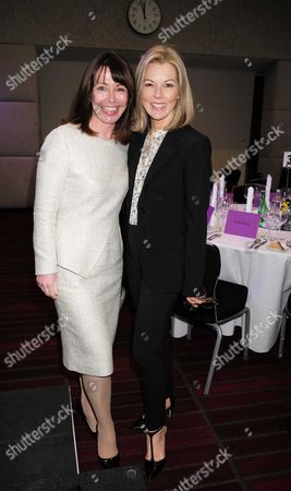 28 01 16 Wellbeing of Women Annual Lunch Debate at the Royal College of Physicians Regents Park London Kay Burley & Mary Nightingale