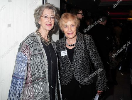 19 10 15 Woman of the Year Lunch at Intercontinental Hotel Maureen Lipman and Sue Macgregor
