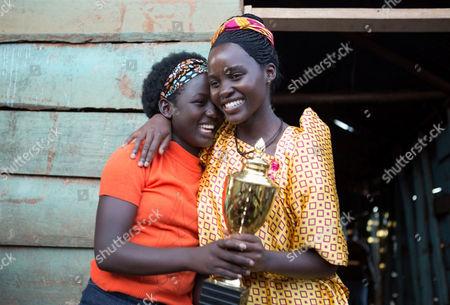 Madina Nalwanga, Lupita Nyong'o