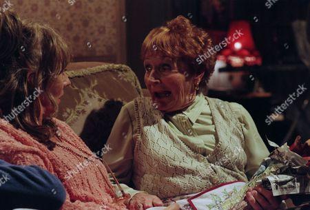 Sue Johnston as Barbara Royle and Doreen Keogh as Mary Carroll