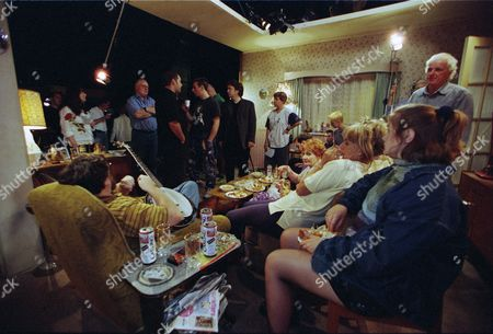 "Behind the scenes filming with Andy Whyment as Darren Sinclair-Jones, Ralf Little as Antony Royle, Sheridan Smith as Emma Kavanagh, Craig Cash as Dave Best, Caroline Aherne as Denise Best (née Royle), Doreen Keogh as Mary Carroll, Liz Smith as Norma Speakman (Nana), Sue Johnston as Barbara Royle, Jessica Hynes as Cheryl Carroll and Ricky Tomlinson as James ""Jim"" Royle"