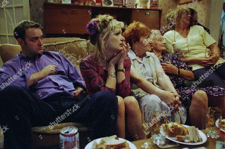 Craig Cash as Dave Best, Caroline Aherne as Denise Best (née Royle), Doreen Keogh as Mary Carroll, Liz Smith as Norma Speakman (Nana) and Sue Johnston as Barbara Royle