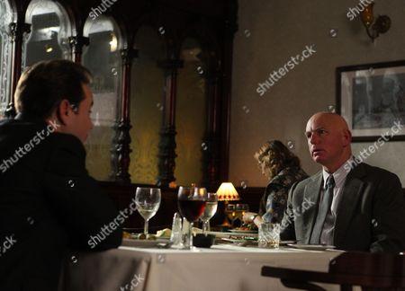 EPISODE 2 - Gary Lewis as William Watt and Martin Compston as Peter Manuel.