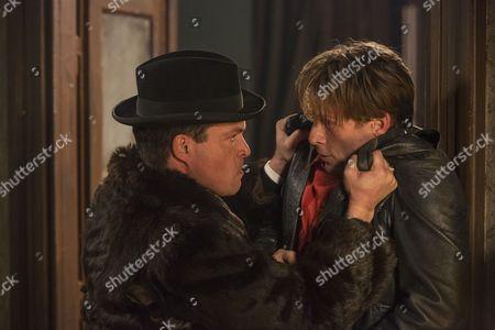 John Light as Dacourt and Ivan Fenyo as Peter.