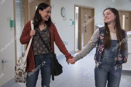 Laura Fraser as Julie Rose and Hazel Doupe as Lucy