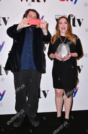 Sara Bennett, Winner - The Technicolor Creative Technology Award, and Ben Wheatley