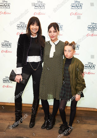 Stock Picture of Daisy Low, Betty Lowe and Pearl Lowe