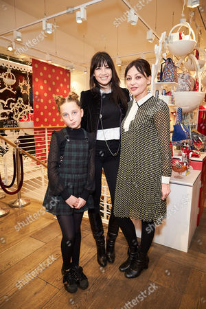 Stock Image of Daisy Lowe, Betty Lowe and Pearl Lowe