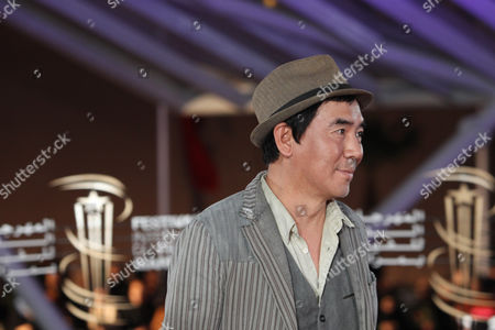 Stock Image of South Korean Director Kim Jee-Woon attends the 15th Marrakech International Film Festival in Marrakech, Morocco, . The festival runs from Dec. 2-10