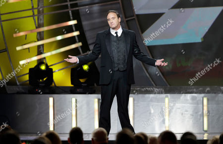 Jay Mohr hosts the NASCAR Sprint Cup Series auto racing awards, in Las Vegas