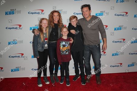 Robyn Lively, Bart Johnson and family