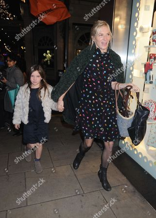 Stock Picture of Jo Whiley and daughter Coco Whiley-Morton