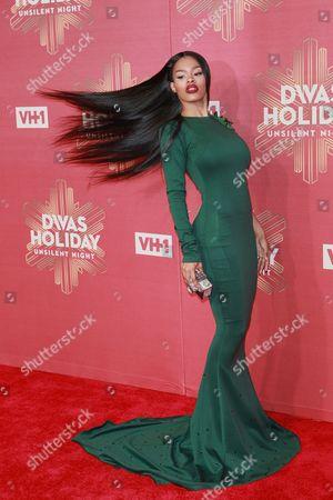 Editorial image of VH1 Divas Holiday Unsilent Night, Arrivals, New York, USA - 02 Dec 2016