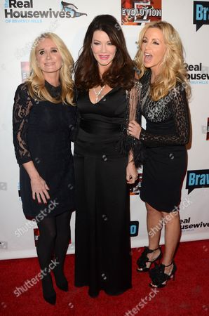Kim Richards, Lisa Vanderpump-Todd and Camille Grammer