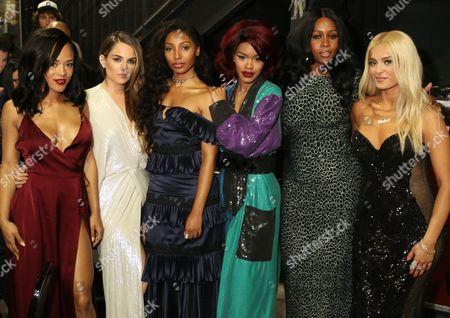 Serayah McNeill, Jojo Levesque, Diana Gordon, Teyana Taylor and Remy Ma