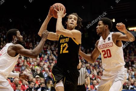 Editorial photo of NCAA Basketball Winthrop vs Dayton, Dayton, USA - 03 Dec 2016