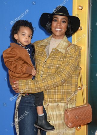 Kelly Rowland and Titan Jewell Witherspoon