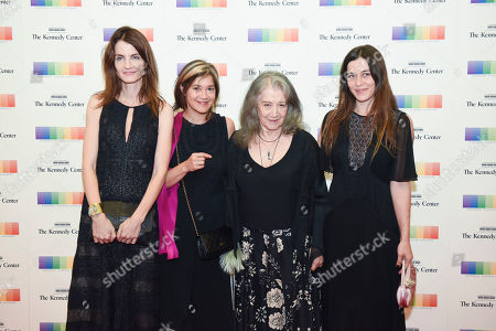 Anne Catherine Dutoit, Lyda Chen, Martha Argerich, Stephanie Argerich Kennedy Center Honoree Martha Argerich, second from right, arrives with Anne Catherine Dutoit, left, Lyda Chen, Stephanie Argerich, right, at the State Department for the Kennedy Center Honors gala dinner on in Washington
