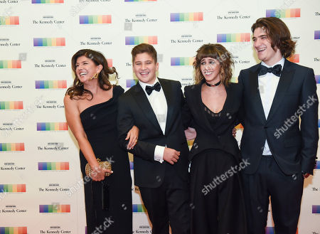 Cindy Frey, Otis Frey, Taylor Frey, Deacon Frey The family of Eagles band member Glenn Frey, from left, wife Cindy Frey, Otis Frey, Taylor Frey, and Deacon Frey arrive at the State Department for the Kennedy Center Honors gala dinner on in Washington