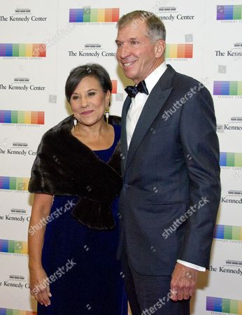 United States Secretary of Commerce Penny Pritzker and her husband, Dr. Bryan Traubert,