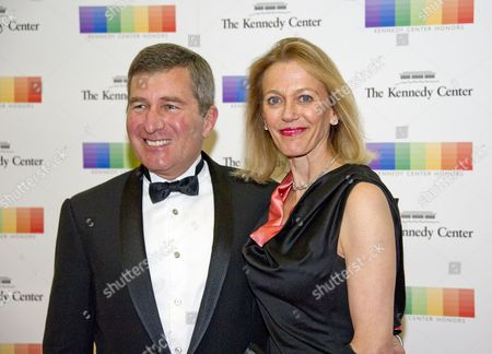 Assistant Secretary of State for Economic and Business Affairs Charles Rivkin and his wife, Susan,