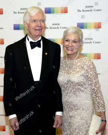 United States Senator Thad Cochran (Republican of Mississippi) and his wife, Kay Webber