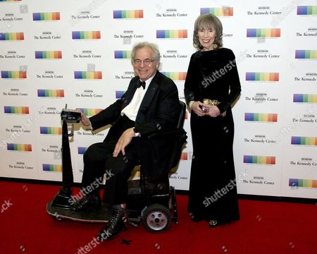 Stock Image of Itzhak Perlman and his wife, Toby,