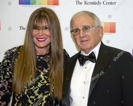 American entertainment executive and personal manager Irving Azoff, and his wife, Shirley