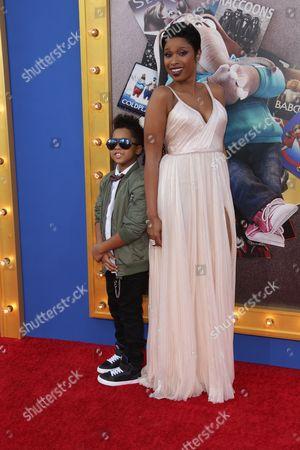 Jennifer Hudson and David Daniel Otunga Jr.