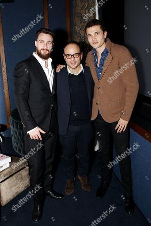 Aaron Taylor-Johnson, Robert Salerno (Producer), Karl Glusman