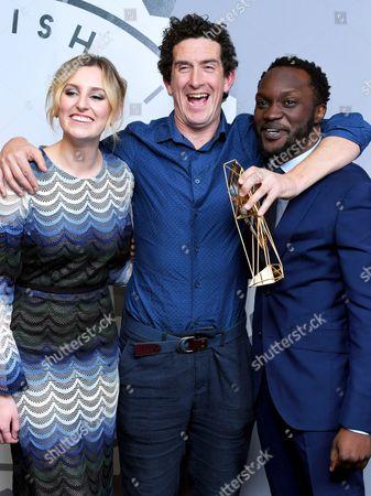 Editorial picture of British Independent Film Awards, Press Room, Old Billingsgate, London, UK - 04 Dec 2016
