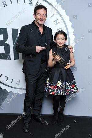 Avin Manshadi - Supporting Actress, 'Under The Shadow' with Jason Isaacs