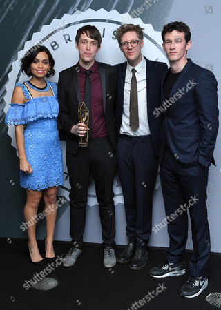 James Spinney and Peter Middleton - Best British Documentary, 'Notes on Blindness' with Georgina Campbell and Callum Turner