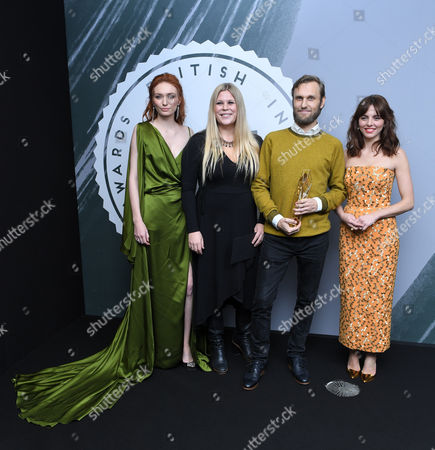 Stock Picture of Jennifer Ericsson and Rene Pannevis - Best British Short, 'Jacked' with Eleanor Tomlinson and Ophelia Lovibond