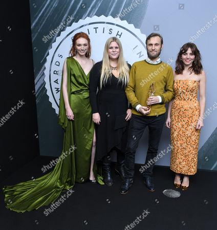 Stock Photo of Jennifer Ericsson and Rene Pannevis - Best British Short, 'Jacked' with Eleanor Tomlinson and Ophelia Lovibond