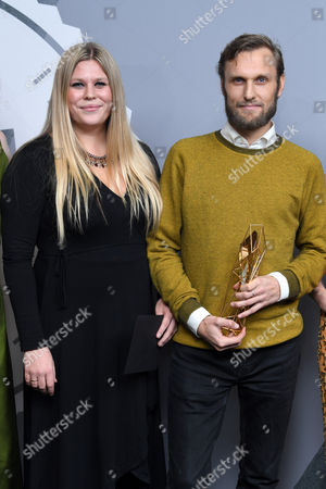 Stock Image of Jennifer Ericsson and Rene Pannevis - Best British Short, 'Jacked'