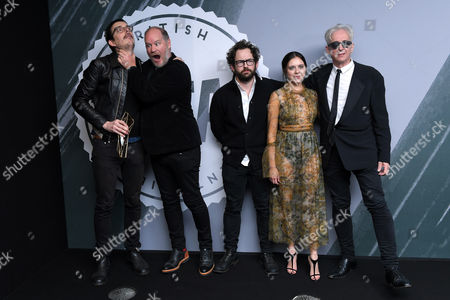 Anthony McPartlin Timpson and Jim Hosking - Discovery Award, 'The Greasy Strangler' with Bel Powley and Elliot Grove