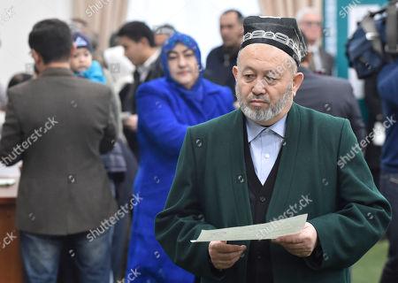 Editorial photo of Elections, Tashkent, Uzbekistan - 04 Dec 2016