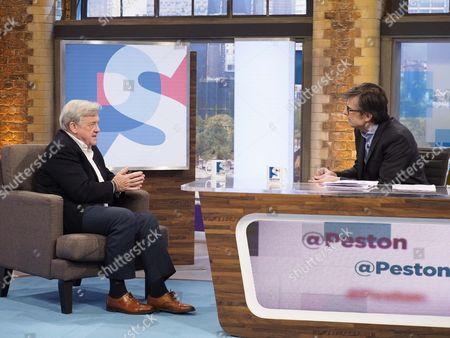 Editorial image of 'Peston On Sunday' TV show, London, UK - 04 Dec 2016