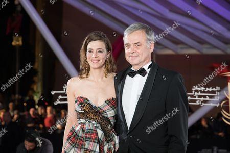 Celine Sallette and Emmanuel Courcol