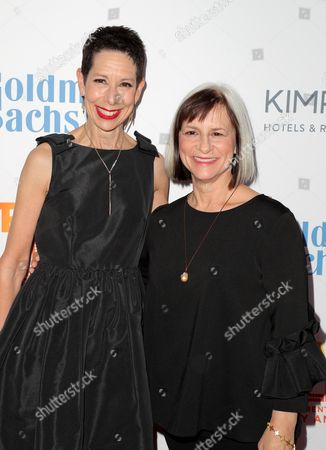 Stock Picture of Abby Land, CEO of the Trevor Project and Pegg Rajski, founder of the Tremor Project
