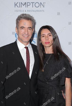 Dermot Mulroney and Tharita Cesaroni