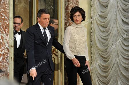 Agnese Landini, Matteo Renzi