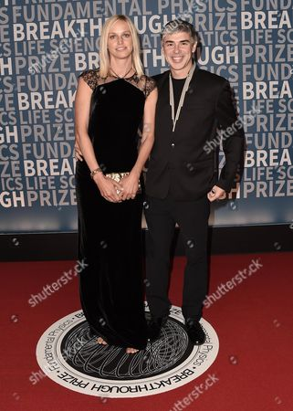 Editorial image of 5th Annual Breakthrough Prize Ceremony, arrivals, Mountain View, USA - 04 Dec 2016