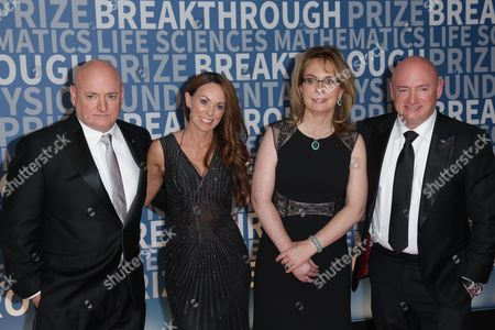Editorial picture of 5th Annual Breakthrough Prize Ceremony, arrivals, Mountain View, USA - 04 Dec 2016