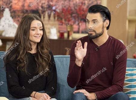Emily Middlemass and Rylan Clark